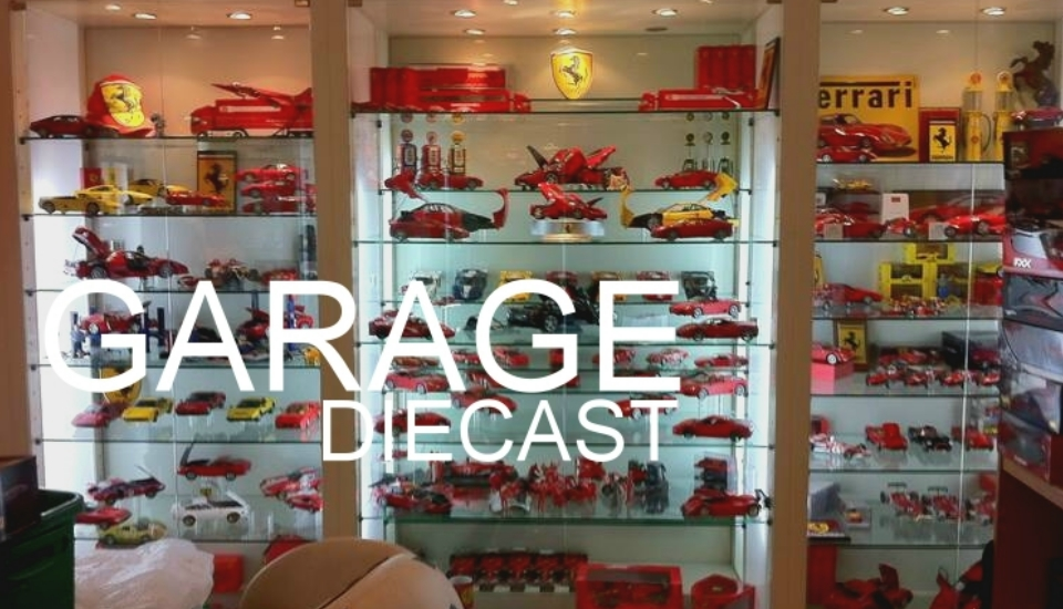 GARAGE DIECAST : EAK FERRARI COLLECTION BANGKOK THAILAND