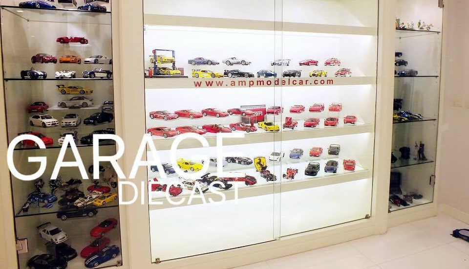 GARAGE DIECAST : P POMZ COLLECTION BANGKOK THAILAND