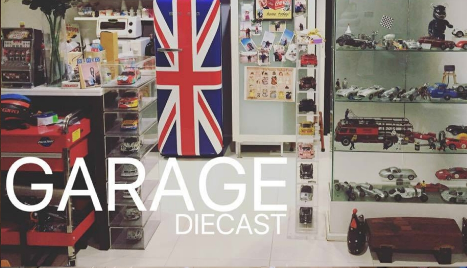 GARAGE DIECAST : P pan COLLECTION BANGKOK THAILAND